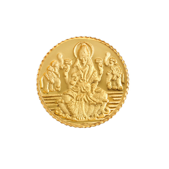 1 Gram Lakshmi Gold Coin 24kt(999 Purity)
