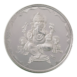 20 Gram Ganesh Silver Coin (999 Purity)