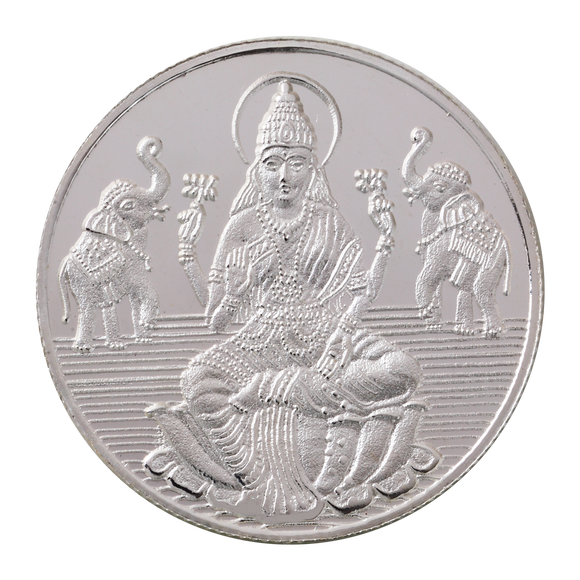 20 Gram Lakshmi Silver Coin (999 Purity)