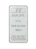 500 Gram Silver Bar (999 Purity)