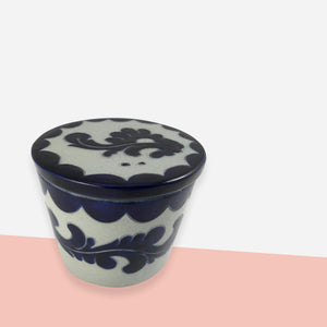 Ceramic Storage Jar - White Space Home