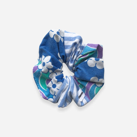 Retro Patchwork Hair Scrunchie - Lea Sionneau - White Space Home
