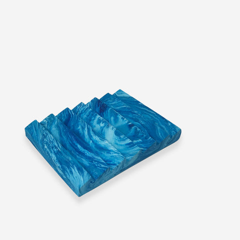 Studio SVPD Blue Soap Dish - White Space Home