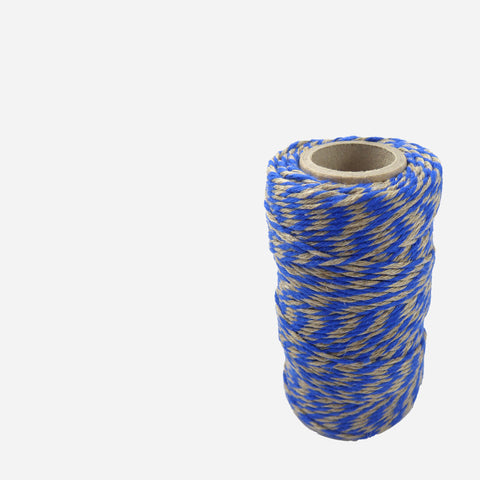 Blue/Natural Biodegradable Bakers Twine - White Space Home