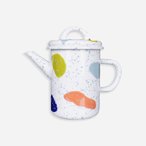 Colourful Teapot - Bornn Enamelware