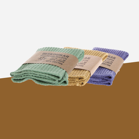 Iris Hantverk Set of Dish Cloths - Whitespacehome