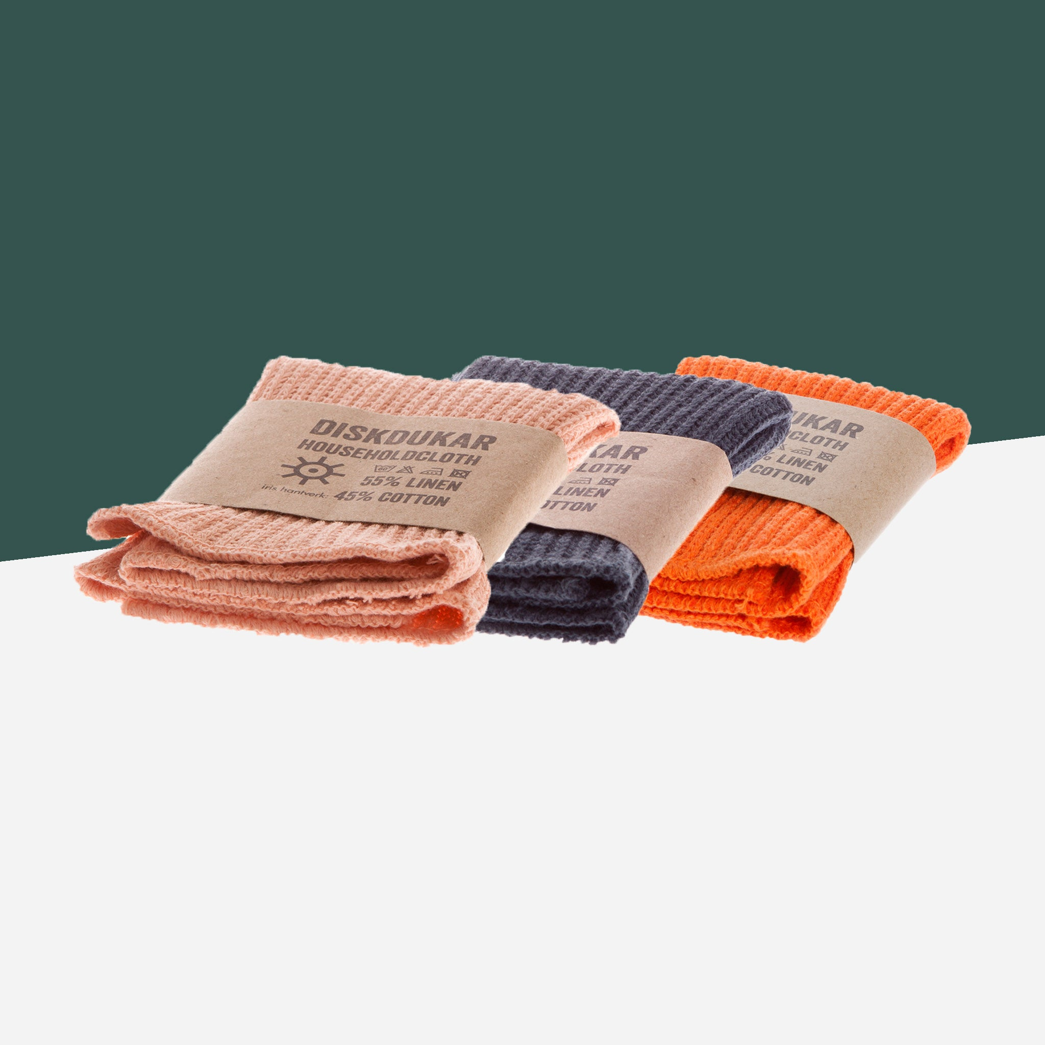 Iris Hantverk Set of Cotton Cloths - White Space Home
