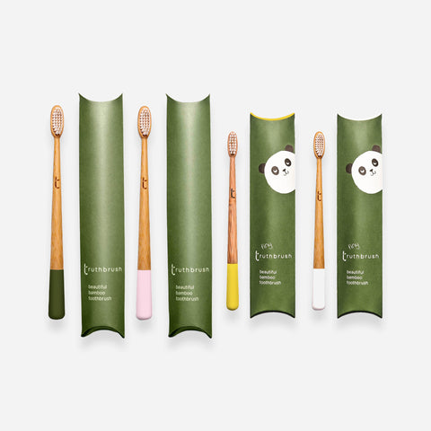 The Truthbrush - Bamboo Toothbrush - Whitespacehome