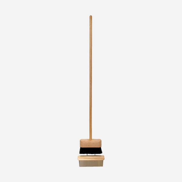 Modern 'Floating' Dustpan and Broom