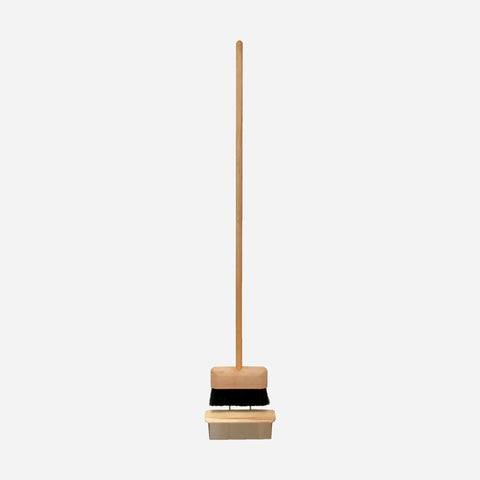 Modern 'Floating' Dustpan and Broom - White Space Home