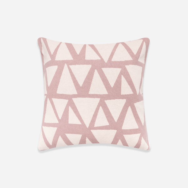 Pink Geometric Cushion Cover - Sophie Home - White Space Home