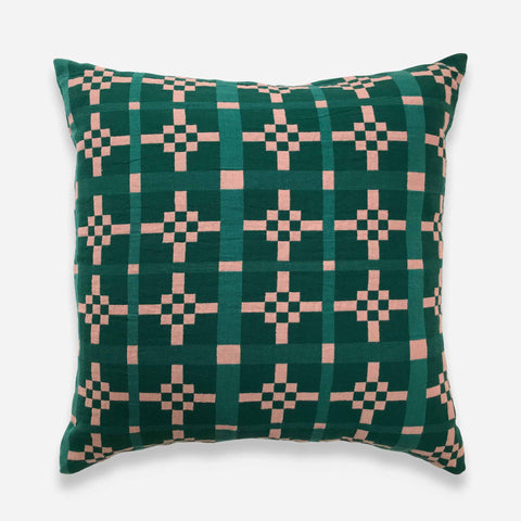 Hygge Heart Cushion Cover - Emerald - White Space Home