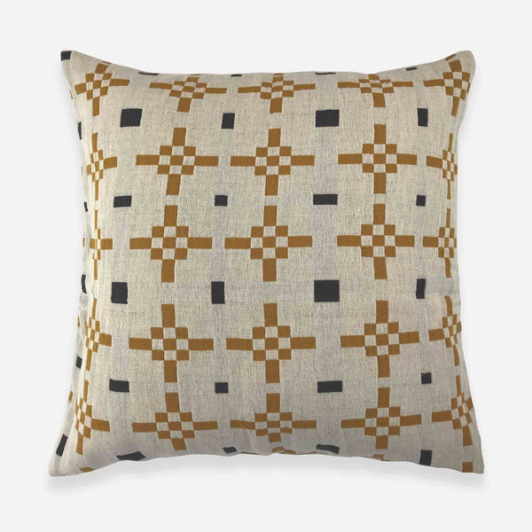 Hygge Heart Cushion Cover - Honey - White Space Home