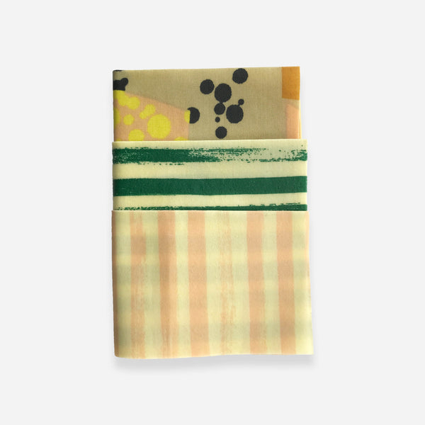 Reusable Beeswax Wraps - Mix and Match - Whitespacehome