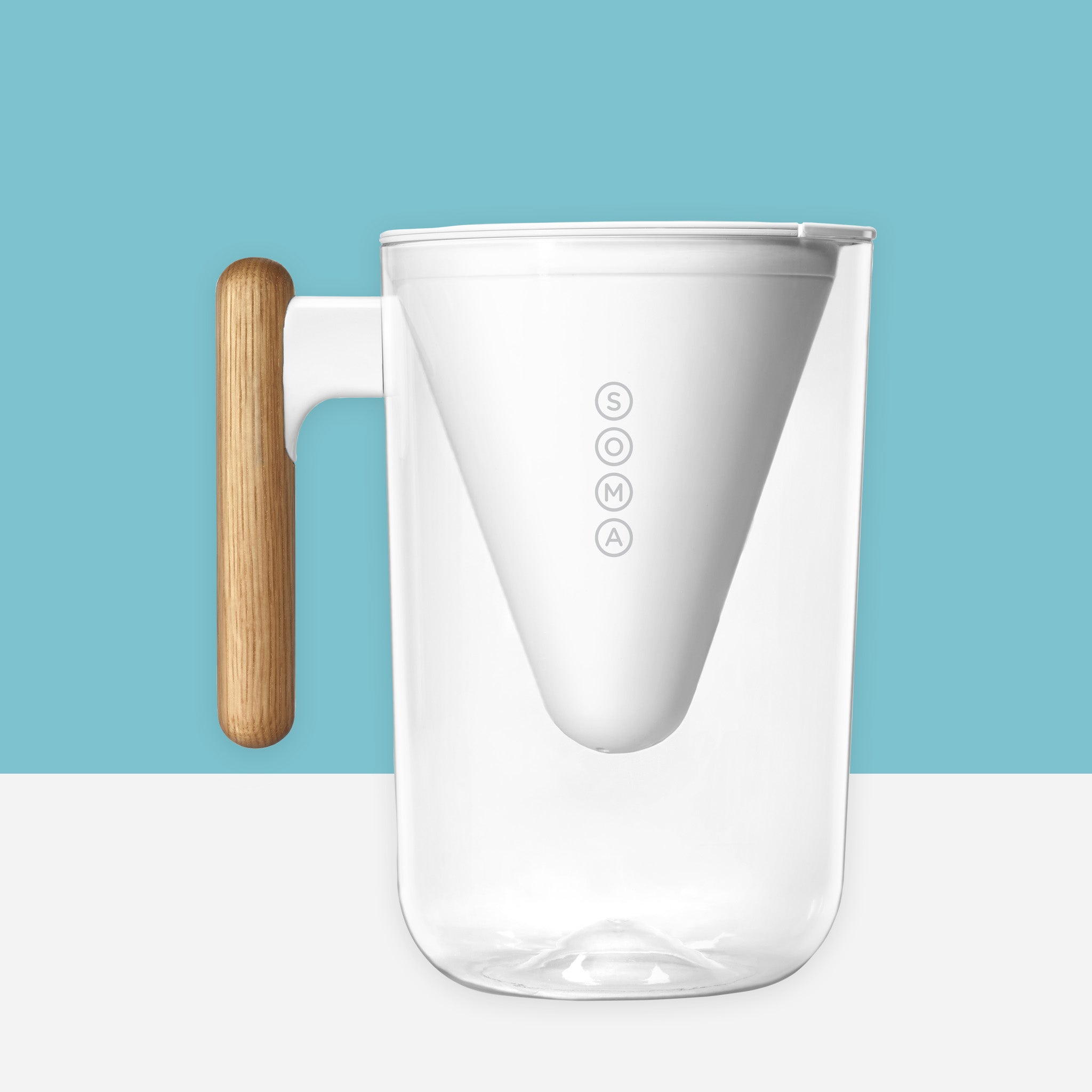 Soma Water Filter Pitcher - 10 Cup - Whitespacehome