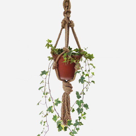 Jute Rope Plant Hanger - White Space Home