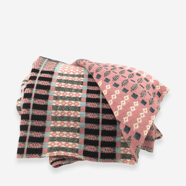 Vintage Welsh Tapestry Blanket - Whitespacehome