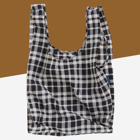 Foldable Reusable Shopping Bag - Baggu - White Space Home