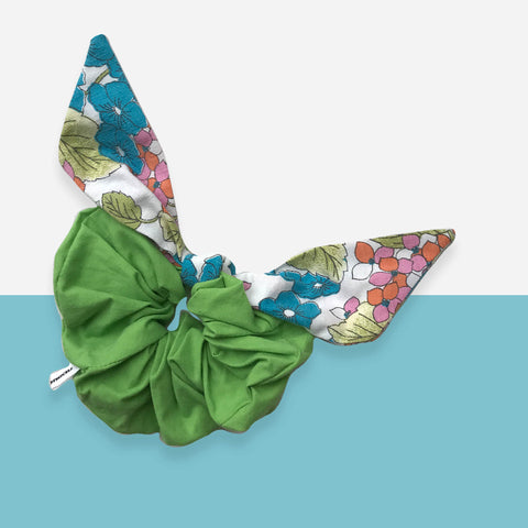 Large Bow Scrunchie - Lea Sionneau - White Space Home