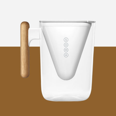 Soma Water Filter Pitcher - 6 Cup - Whitespacehome