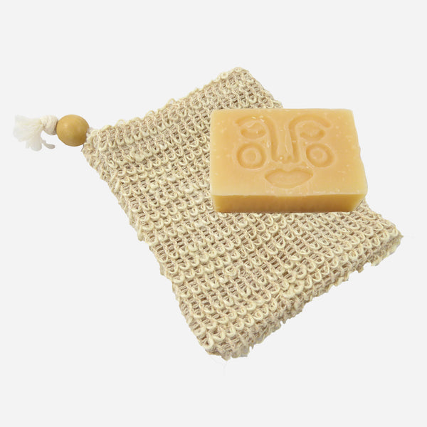 Exfoliating Soap Saver Bag - White Space Home