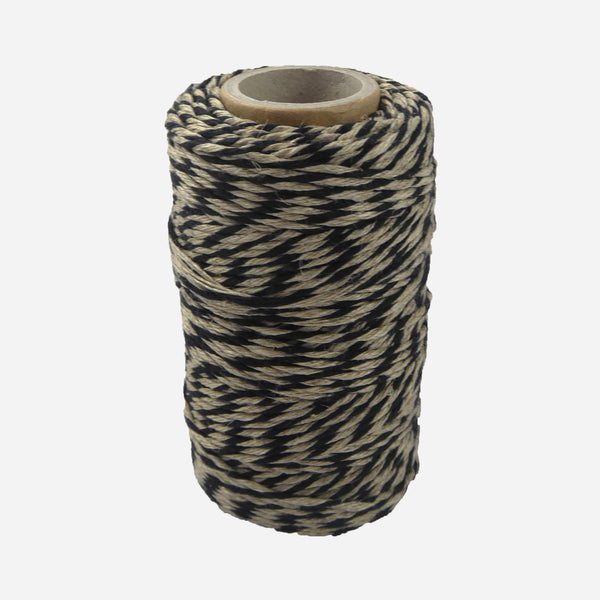 Yellow/Natural Flax Bakers Twine - White Space Home