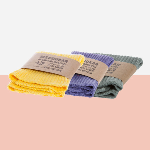 Iris Hantverk Cotton Cleaning Cloths - White Space Home