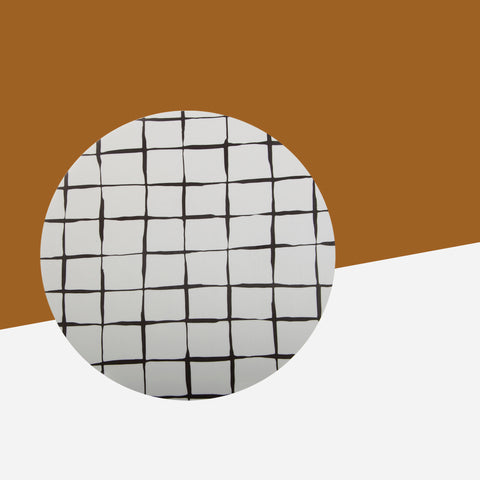 Iris Hantverk Black and White Trivet - Whitespacehome