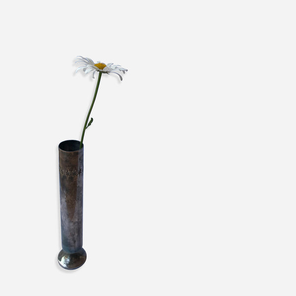 Silver Plated Bud Vase - White Space Home