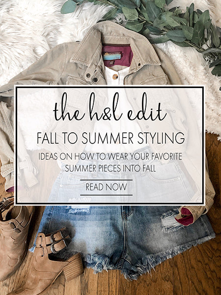 Summer Style Transition - How to Style Your Summer Pieces for Fall