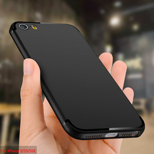 best service 866e4 1a32e TCICPC For IPhone SE case iphone 5S case Luxury High Quality Ultra Thin  Scrab Silicone fProtective Cover case For IPhone 5S SE 5
