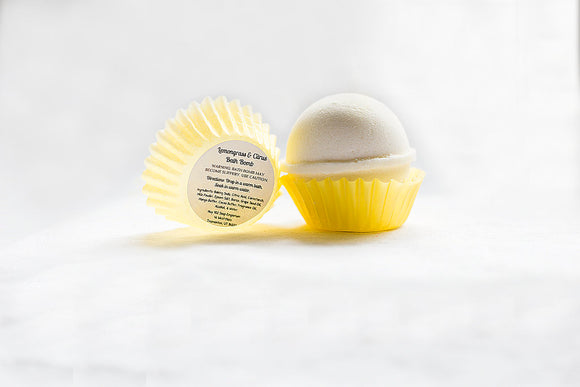 Bath Bomb - Lemongrass & Citrus | 2 oz