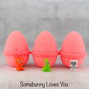 Surprise Egg Bath Bomb - Somebunny Loves You | 4oz