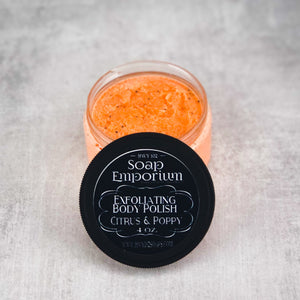 Exfoliating Body Polish - Citrus & Poppy