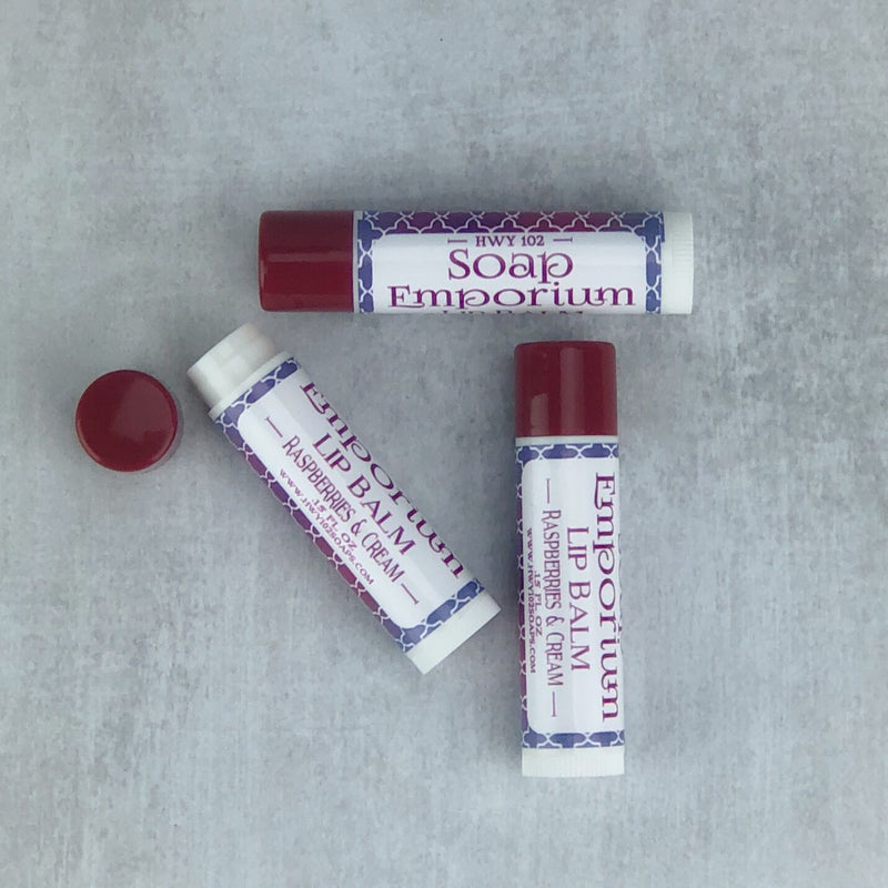 Lip Balm | Raspberries & Cream