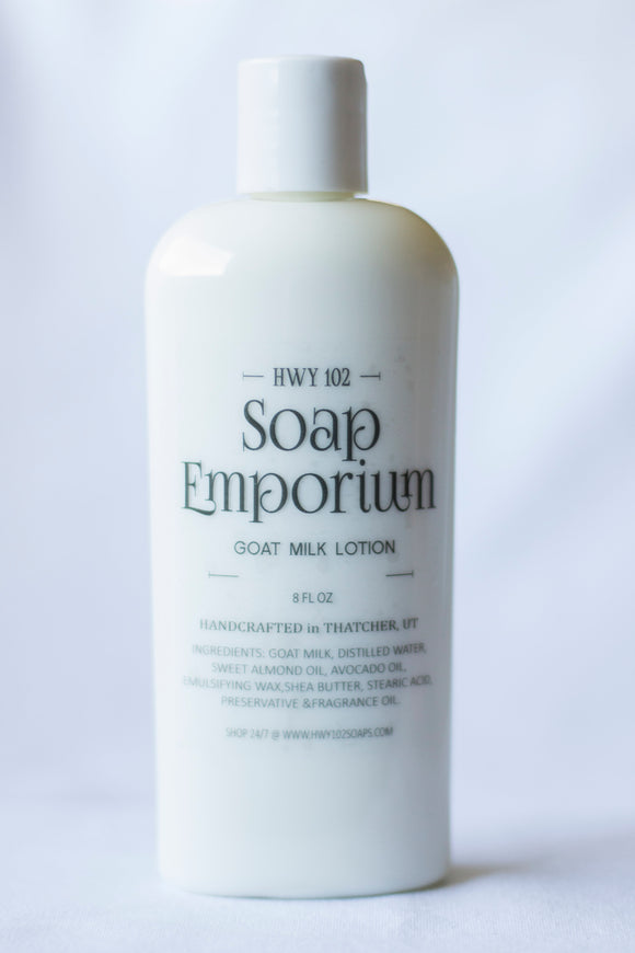 Goat Milk Lotion - Nut N' Honey