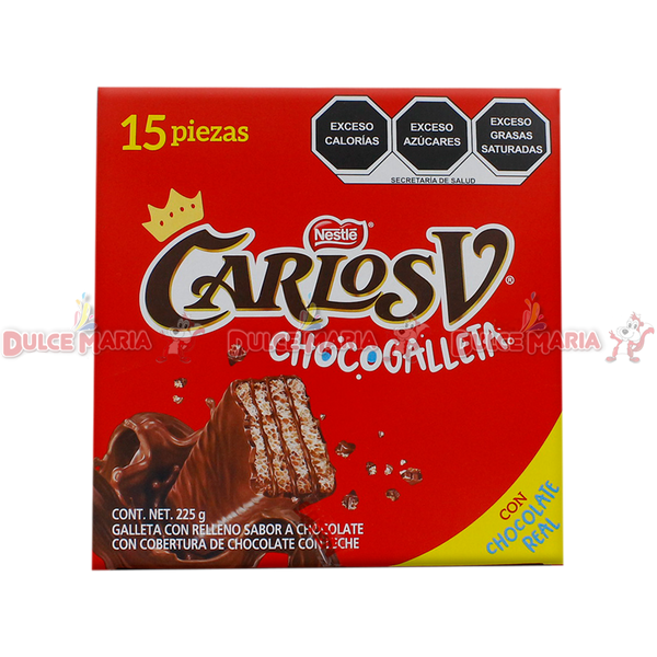 CARLOS V CHOCOGALLETA 8/15