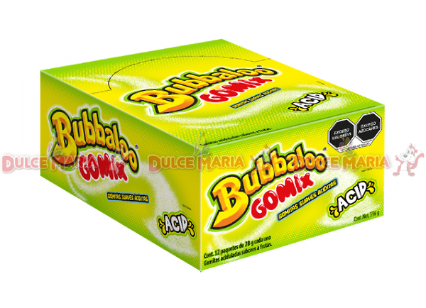 BUBBALOO GOMIX ACID 12/12