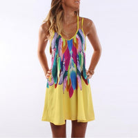 Style Sexy Printed Plus Size Women Clothing Casual Summer Beach