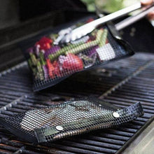 Load image into Gallery viewer, Non-Stick Mesh Grilling Bags