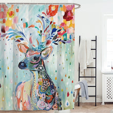 Load image into Gallery viewer, Bohemian Deer Shower Curtain | Waterproof | 6 Designs Available