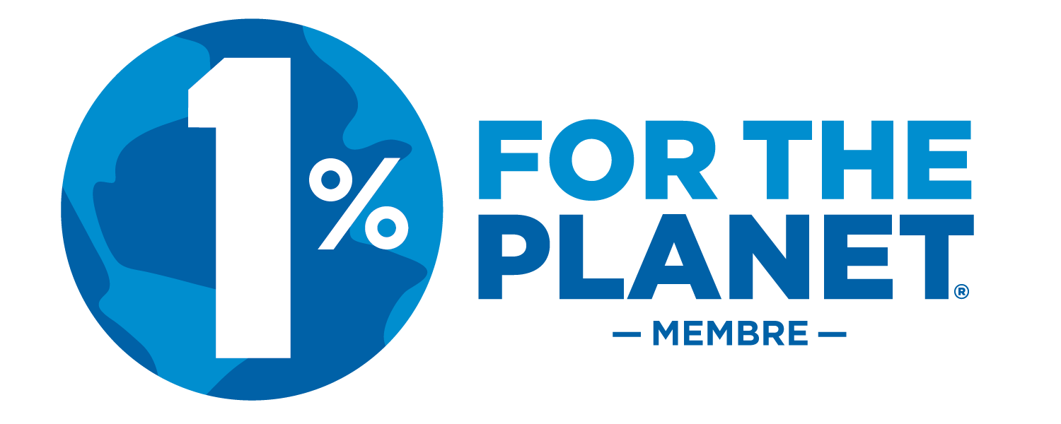 Logo membre One percent for the planet