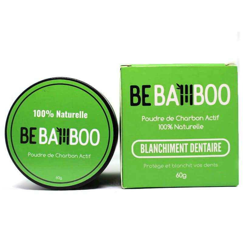 Charbon Actif Naturel 60g - Blanchiment Dentaire