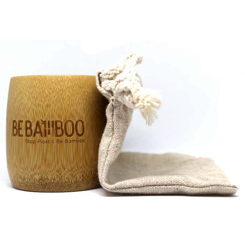 Gobelet Réutilisable 100ml - Bambou Naturel
