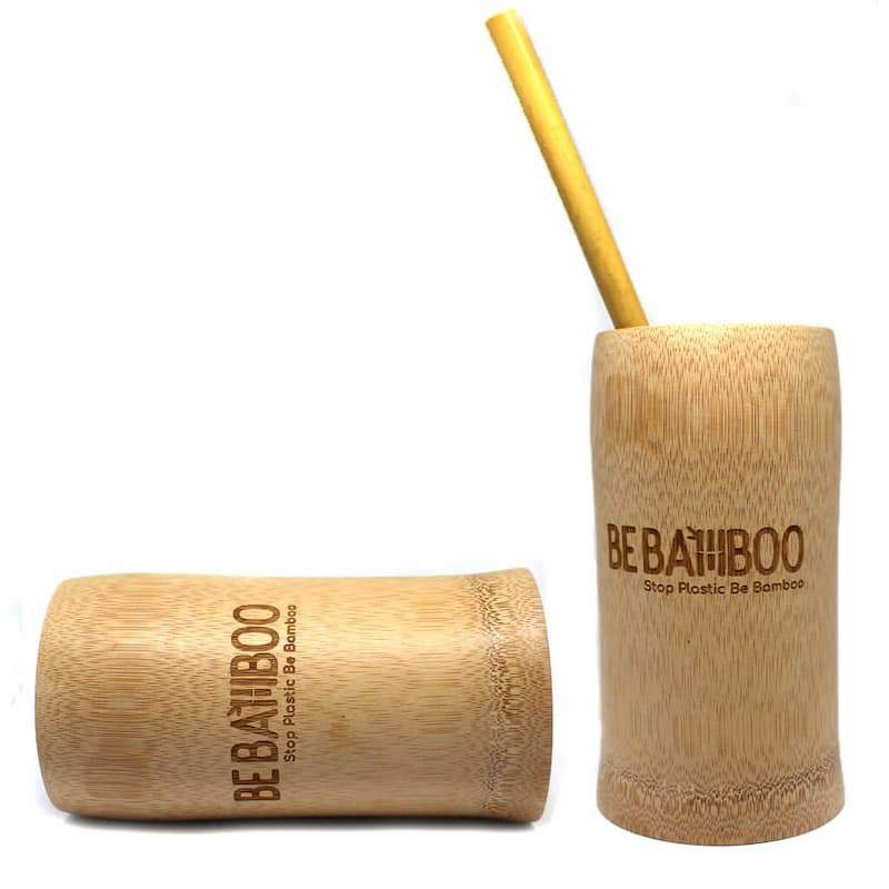 Gobelet Réutilisable 300ml - Bambou Naturel