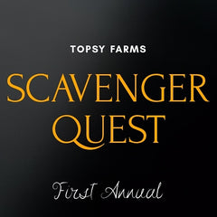 Topsy Farms' first annual Scavenger Quest