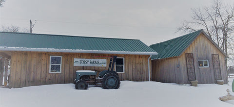 The new wool shed at topsy farms