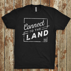 Unisex Connect to the Land tee