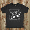 Black Topsy Farms' Connect to the Land t-shirt