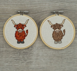 Cedar & Willow cross stitch